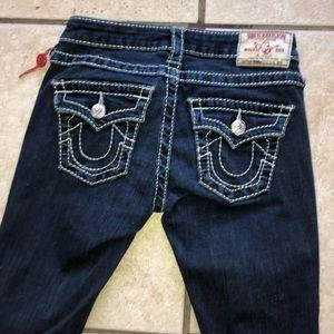 True Religion blue jeans (authentic)